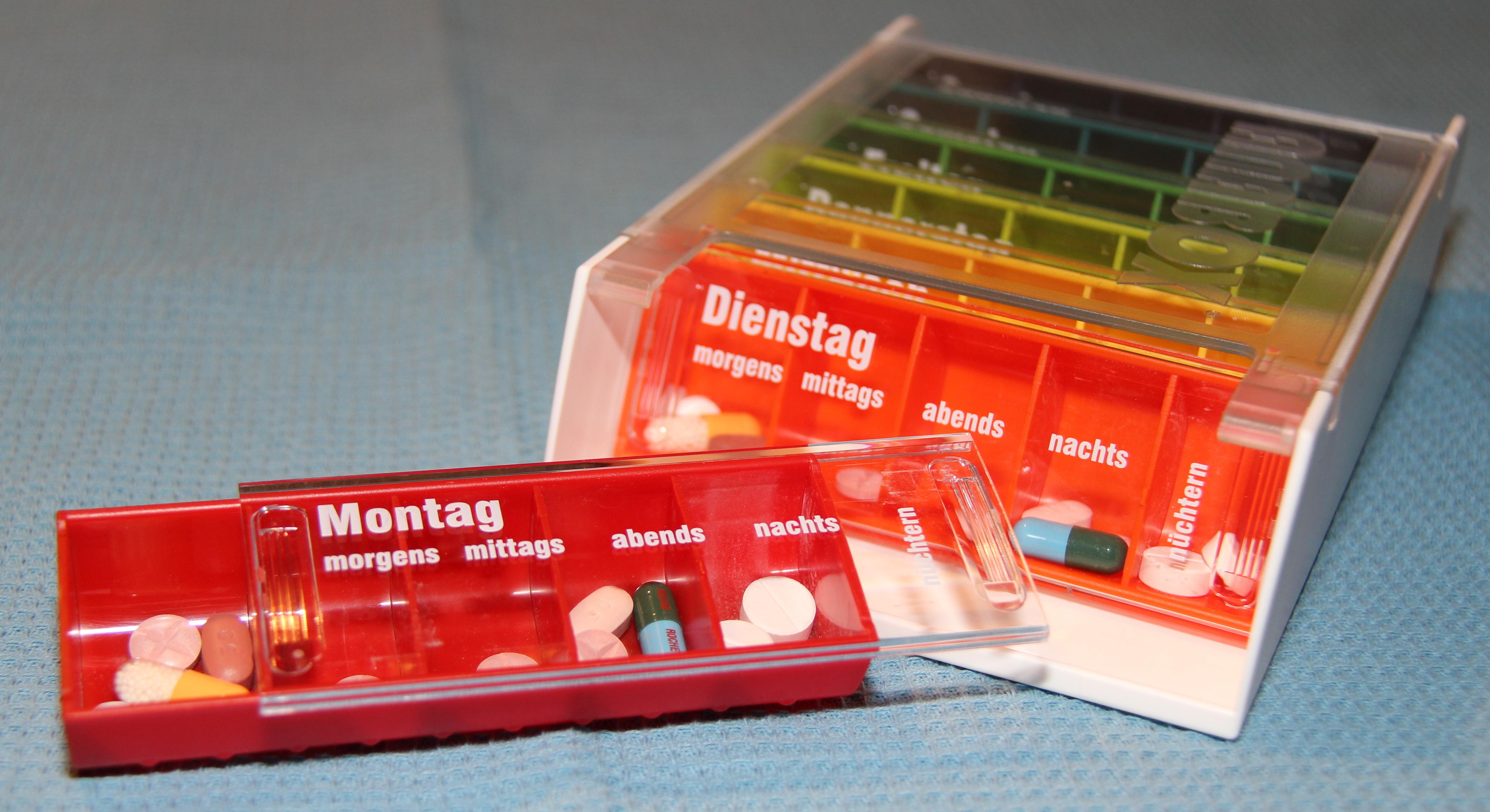 Anabox-Medikamentendispenser