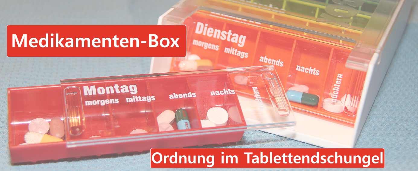 Medikamentendispenser Dispenser für Medikamente
