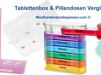 7 Tage Tablettenbox Wochendispener